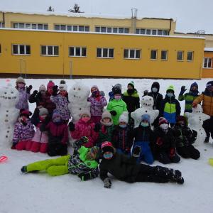 Naši sněhuláci